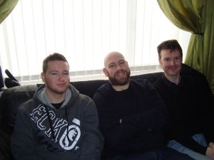 My two brothers, Daniel, Stephen and David.