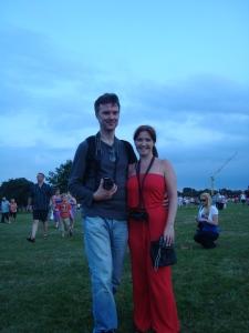 David and I in Newsham Park