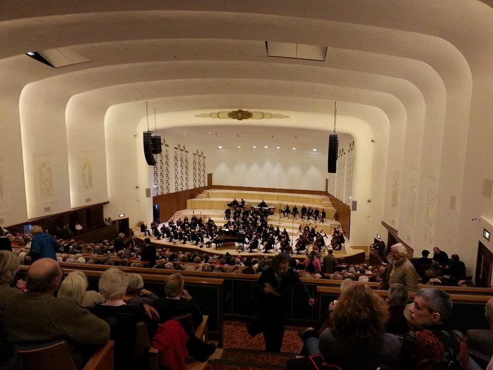 The 'New' Liverpool Philharmonic Hall. (2/3)