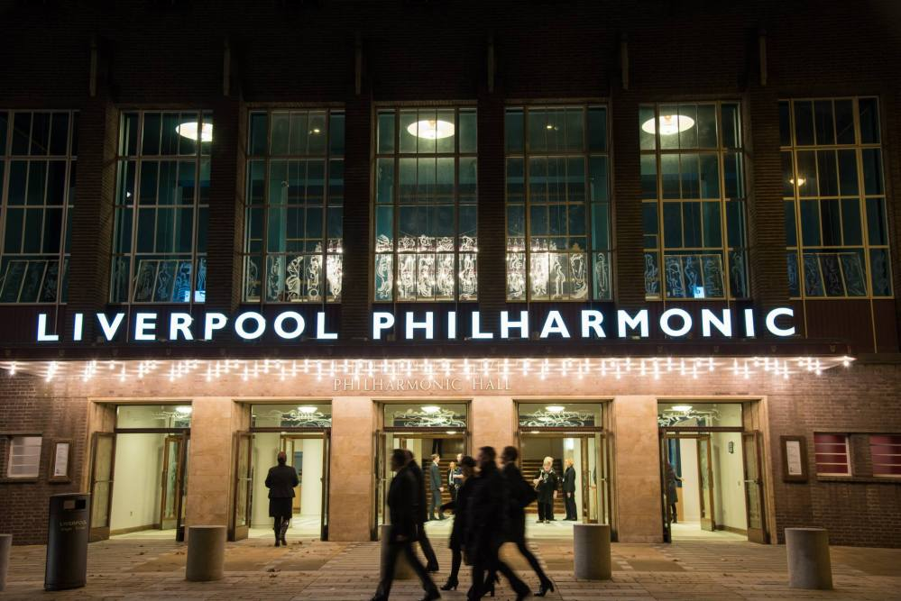 The 'New' Liverpool Philharmonic Hall. (1/3)