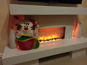 Santa Paws stocking