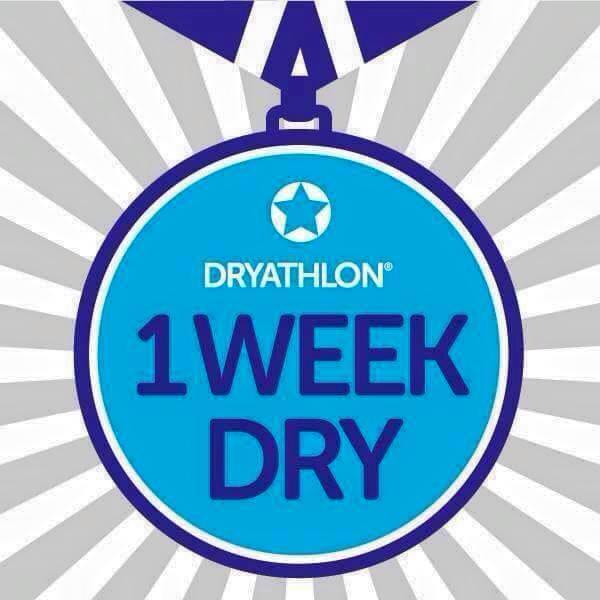 Dry January - Week One.
