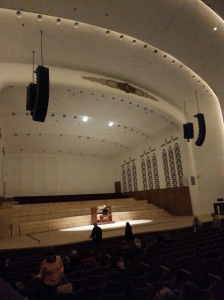 Film at the Philharmonic hall