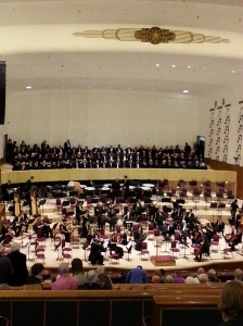 Mahler's 2nd at Liverpool Philharmonic Hall