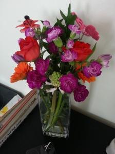 Recent flower display