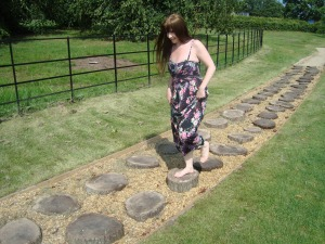 Bare Foot Walk at Trentham Gardens