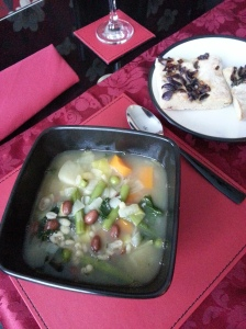 Wholesome Vegetable and Bean Soup