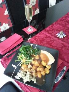 Beautiful, tasty roast dinner