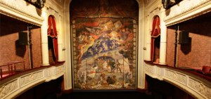Safety Curtain at the Royal Derngate Theatre