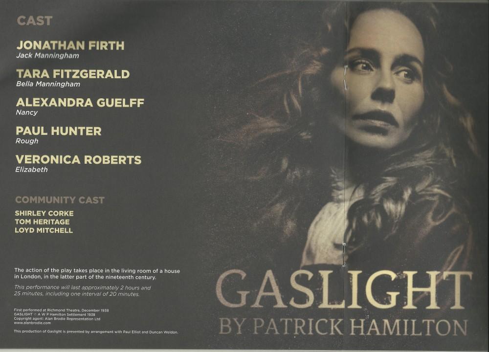 Gaslight by Patrick Hamilton (3/4)