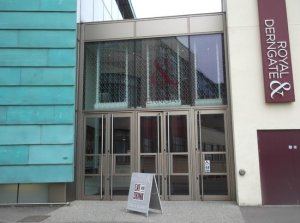 Royal and Derngate Theatre entrance
