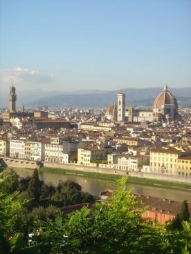 Il Duomo across the Arno