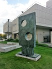 square with two circles - b hepworth