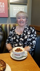 Mum at Costa