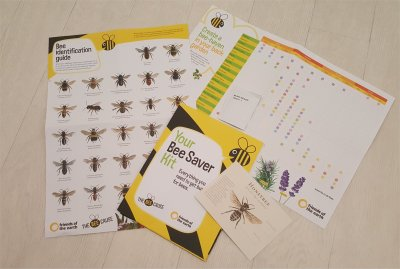 Friends of the Earth Bee Saver Kit
