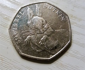 50p Squirrel Nutkin