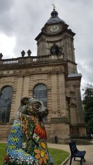 bear and cathedral