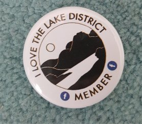 I love the lake district badge