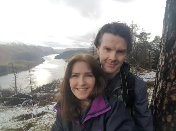 David and I atThirlmere