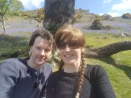 David and I with the Rannerdale Bluebells