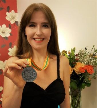 #walk1000miles Medal
