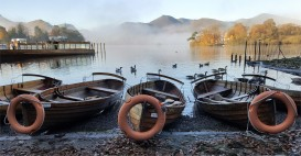 Boats at Derwent Water