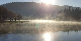 Mist at Derwent Water