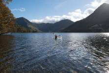 Swimming at Buttermere