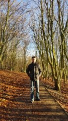 David in the woods