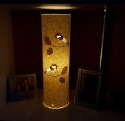 Coal Tit Lamp by Hannah Nunn