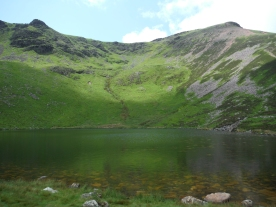 Bleaberry Tarn - from SwimmingtheLakes
