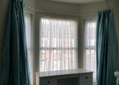 Clean curtains