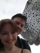 Selfie with a Kelpie