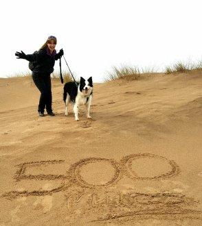 Reaching 500 miles