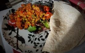 Spicy Quorn Fajitas