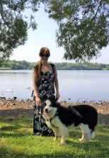 Christine and Riley at Pennington Flash