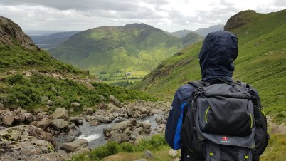 View down Stickle Ghyll