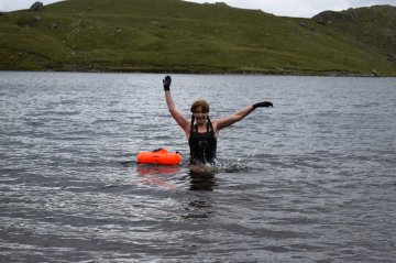 Stickle Tarn swim