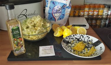 Elderflower Champagne Ingredients
