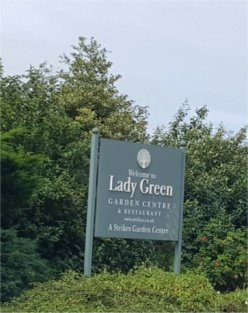 12noon to 1pm - Lady Green Garden Centre