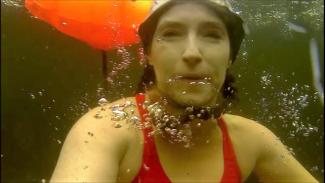 Underwater Selfie Loch Lomond