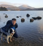Riley and David at Derwentwater