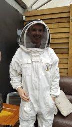 David in bee suit
