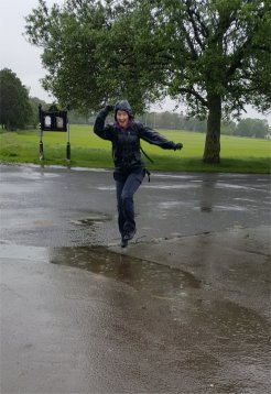 Puddle Jumping :)