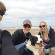 Selfie on the beach
