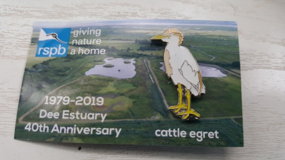 Cattle Egret Pin - 40th Anniversary