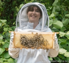 Christine and honey bees