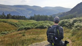 David looking towards Helvellyn