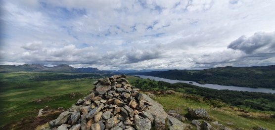 Pano of Old Man and Coniston Water