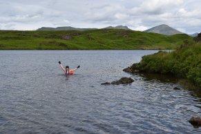 Beacon Tarn swim